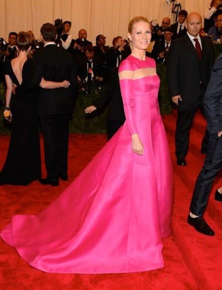 Ea, se acabó eso de ver a Gwyneth Paltrow en la gala del MET, que ella para aburrirse no va