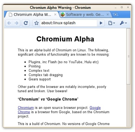 Chromium Alpha