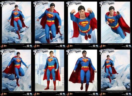 Figura muy real de Superman con un fin solidario
