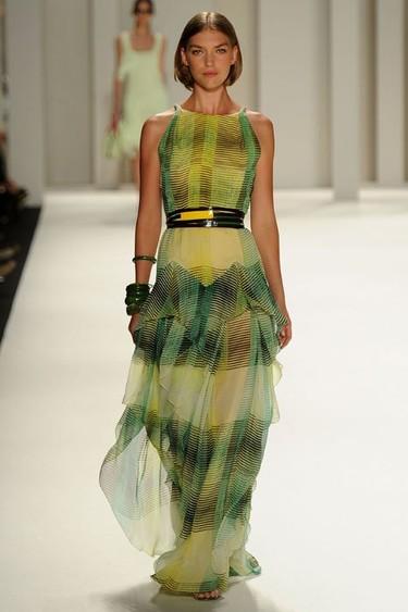 Carolina Herrera en la Semana de la Moda de Nueva York Primavera-Verano 2012: puro glamour