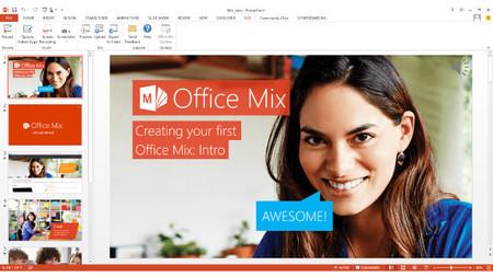 Microsoft anuncia oficialmente Office Mix, su complemento de PowerPoint para crear lecciones online