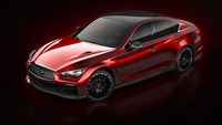 Primera imagen del Infiniti Q50 Eau Rouge Concept