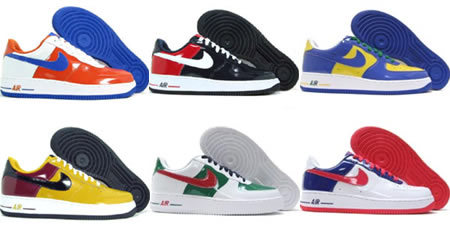 Las Nike Air Force 1 del mundial