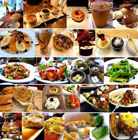 Adivina adivinanza, ¿cuántos platos saludables ves en la imágen?