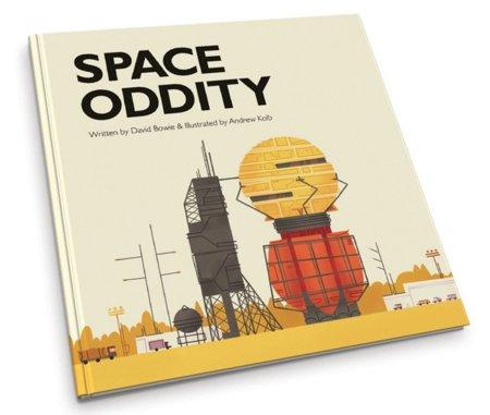 Space Oddity de David Bowie convertido en un libro infantil