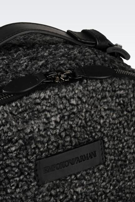 Mochila Armani In Faux Fur