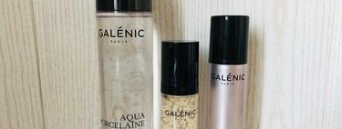 Nuestra piel está mucho más brillante y se lo debemos a la línea Aqua Porcelaine de Galénic: la probamos