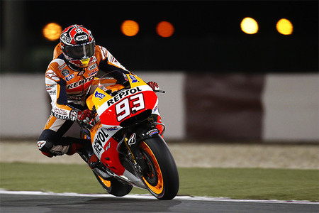 MotoGP Catar 2014: Marc Márquez se apunta el primer duelo de leyendas de 2014