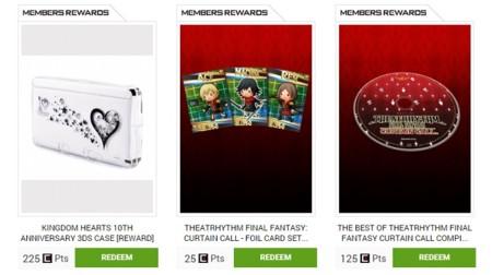 Recompensas Square Enix
