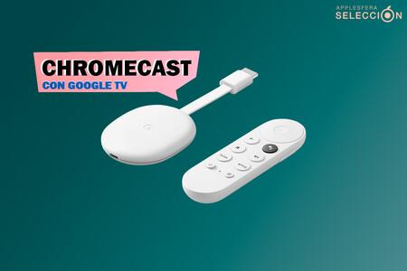 El Chromecast con Google TV compatible con Apple TV+ baja de los 60 euros en MediaMarkt