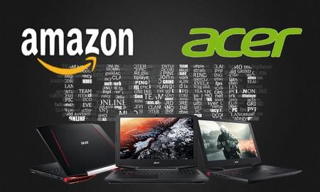 Ofertas en portátiles gaming Acer en Amazon: este verano, todavía estás a tiempo de jugar mejor por menos dinero