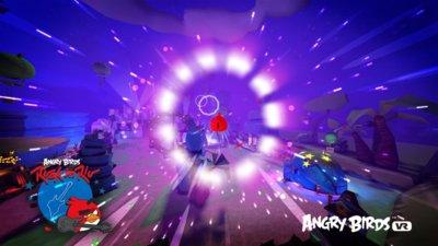 Angry Birds VR, el inevitable juego de Rovio con un enorme parecido a Superman 64