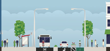 ¿Cansado de que tu ciudad esté pensada para el coche? Ahora puedes rediseñar sus calles con esta app