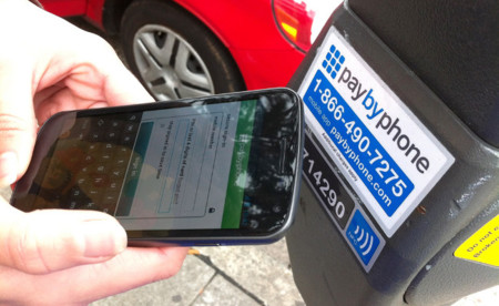 Pagar parking con el smartphone