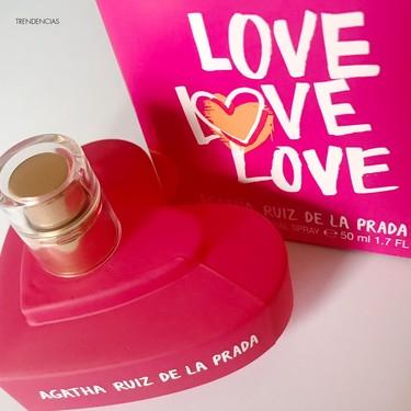 Probamos Love, Love, Love, el último perfume de Agatha Ruiz de la Prada perfecto para las más golosas