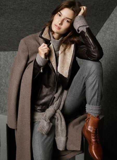 Massimo Dutti colección noviembre 2014: es hora de abrigarse con cuello vuelto