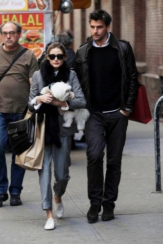 Olivia Palermo y el look 10 para ir de compras, señor