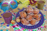 Buñuelos tradicionales de Águilas. Receta de Carnaval