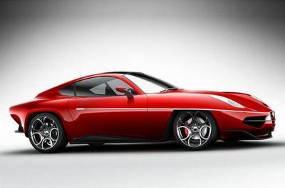 Carrozzeria Touring Disco Volante Concept, camino a Ginebra