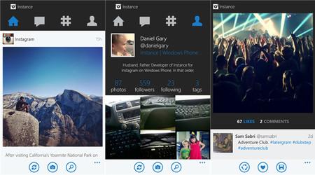 Instance, un cliente no oficial de Instagram se actualiza con nueva interfaz