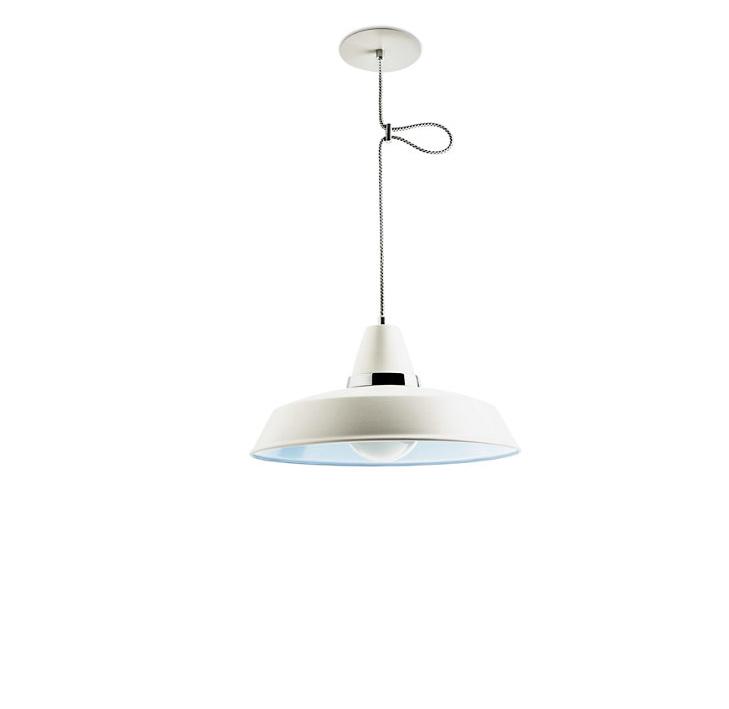 Lámpara de techo VINTAGE BLANCO E27 100 w
