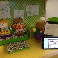 La localización en interiores de GloPos se prueba en una casa de muñecas