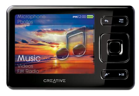 Creative Zen de 32 GB en España por 400 euros