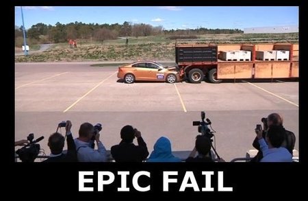 Volvo S60 Epic FAIL