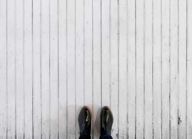 Whitewash Feet