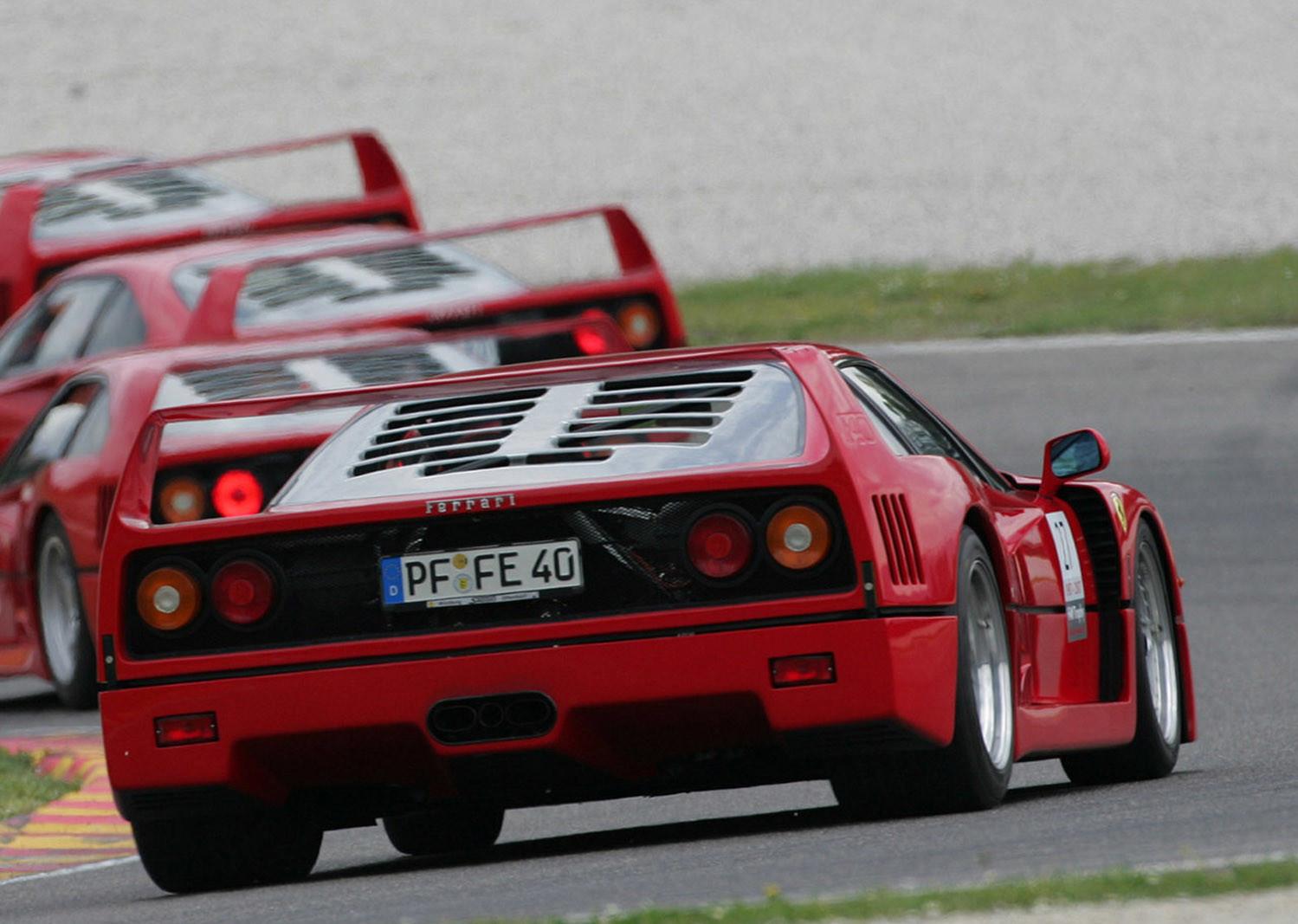 Ferrari F40, 30 aniversario