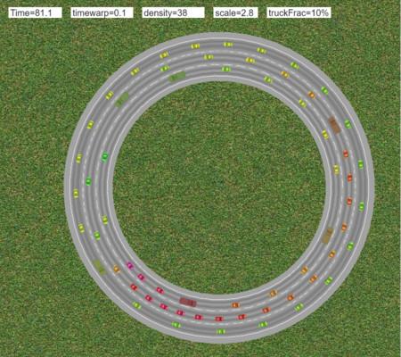 Crea en casa tu propio atasco de tráfico con este simulador