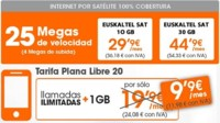 Euskaltel se atreve con un producto convergente con Internet vía satélite