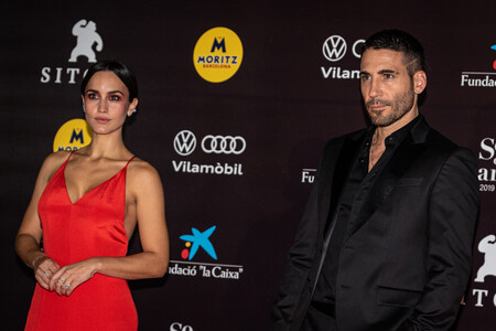 Megan Montaner y Miguel Angel Silvestre