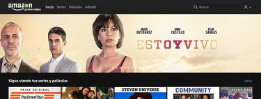Amazon Prime Video apuesta por las series españolas pero sigue sin tener un contenido propio competitivo