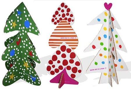 Bonita decoración navideña de Agatha Ruiz de la Prada