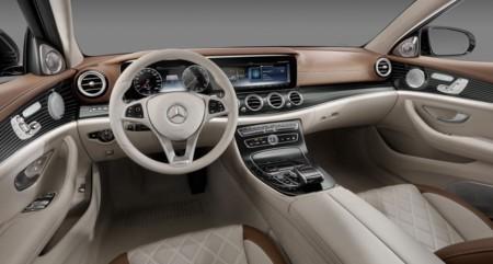 Así luce el interior del nuevo Mercedes-Benz Clase E