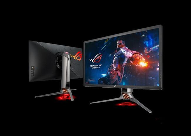 Los monitores gaming se apuntan a la tecnología Nvidia G-Sync y amplían el catálogo con el Asus ROG Swift PG27UQ