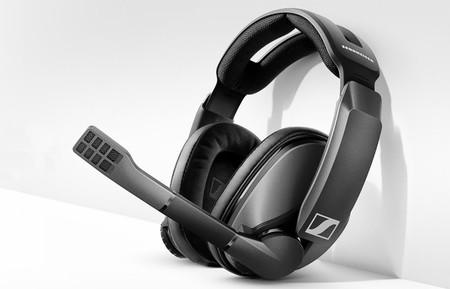Sennheiser apuesta por el mercado gaming con sus últimos auriculares inalámbricos: así son los GSP 370