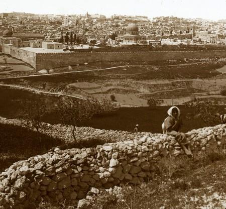 Jerusalen Visto Desde El Monte De Los Olivos