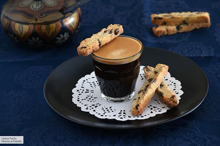Biscotti Crujientes De Limon Y Chocolate