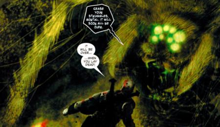Giant Arachnid Gow Comics