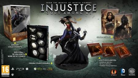 Si esperáis con ganas el lanzamiento de 'Injustice: Gods Among Us', aquí tenéis los detalles de su Edición Coleccionista