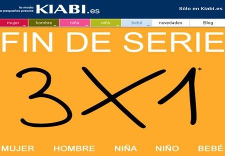 Kiabi, un 3x1 sólo hoy domingo en su web