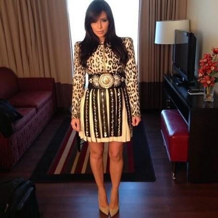 Kim Kardashian se bate en duelo con Rosie Huntington-Whiteley en la Gala del Met 2014