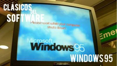 Windows 95. Clásicos del software (V)