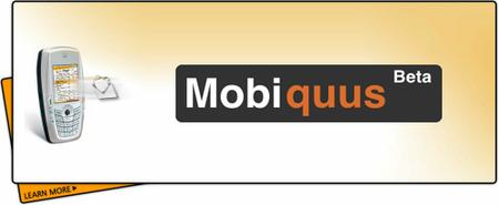 Mobiquus, correo push gratuito en el móvil