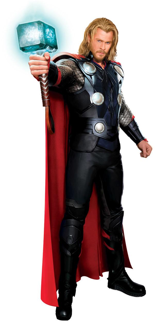 Foto de Capitán América y Thor, diseños de los trajes (4/5)