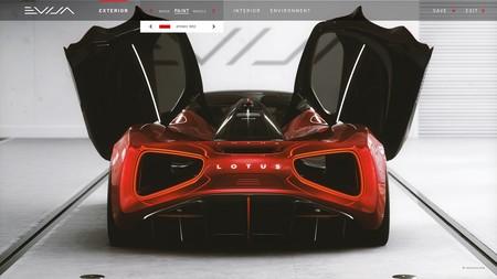 Lotus Evija Sera Completamente Configurable 4