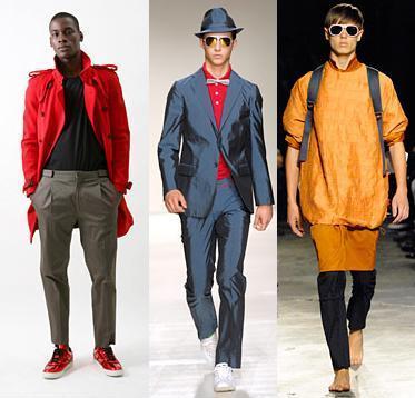 Las prendas sintéticas triunfan en las moda masculina
