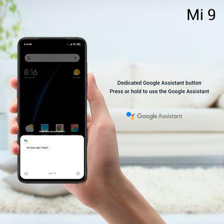 Xiaomi Mi 9 Oficial Boton Google Assistant